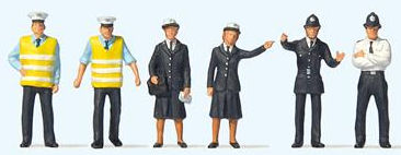 OO Scale Railway Figures