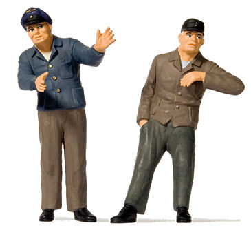 Preiser G Scale Train Drivers